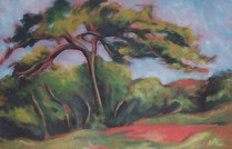 French Landscape - After Cezanne
