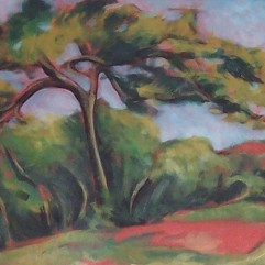 'White Pines' After Cezanne - SOLD