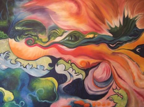 'Nautilus' - Oil on Canvas