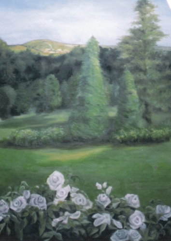 Mural - oil on mdf.