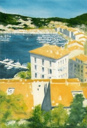 Commission - Oil on Canvas - Corsica - UK