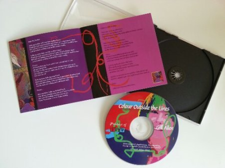 CD Artwork with booklet.