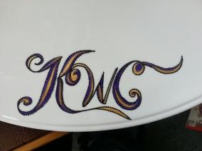 Handpainted Insignia