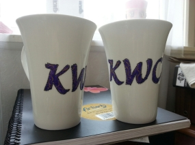 Handpainted Corporate Mugs