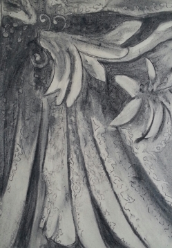 Abstract - Charcoal Work