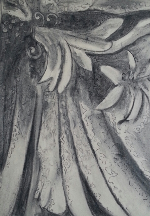 Student Work - Abstract - Charcoal Work