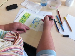 Discover Drawing - qatersoluable coloured pencil