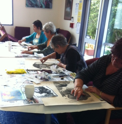 Discover Drawing - charcoal workshop