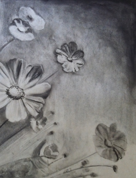 Tonal Study in Charcoal Student Work