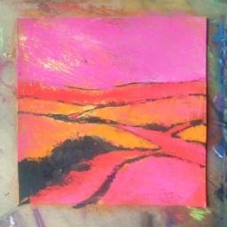 Pink Sky Study