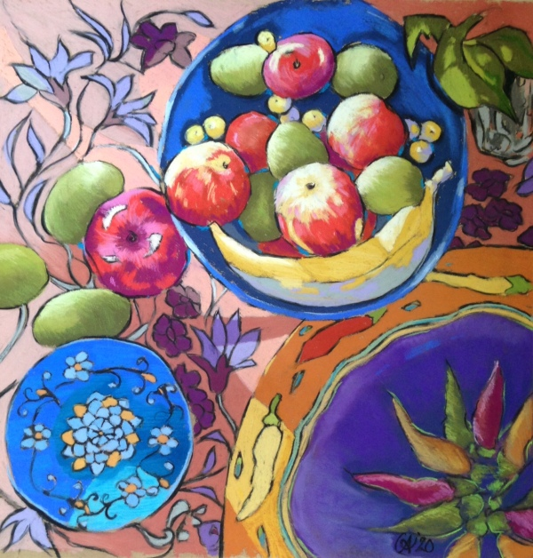 """Summer Table"" Gill Allen NZ Artist"